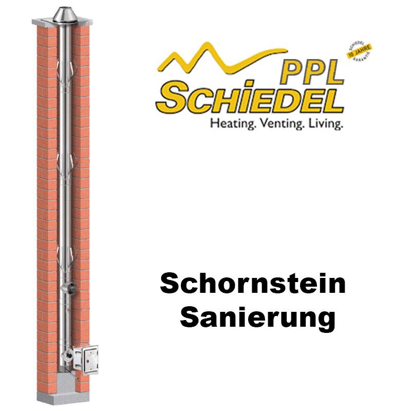 Schiedel PPL Schornstein Sanierung