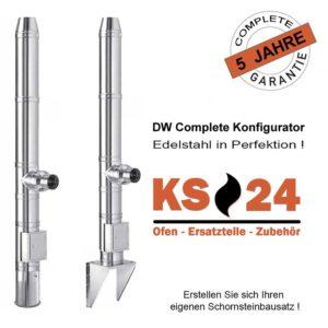 DW-Complete KS24 Edelstahlschornstein