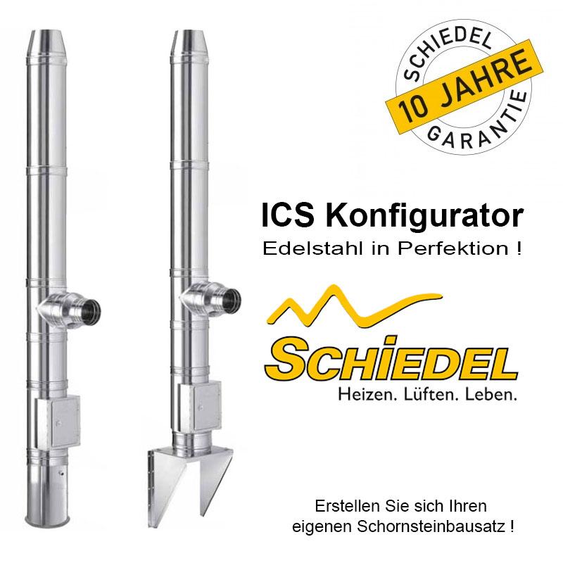 Schiedel ICS Schornstein