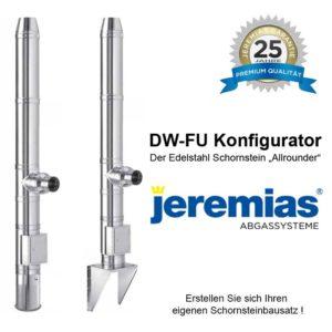 Jeremias DWFU Edelstahlschornstein