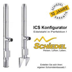 Schiedel ICS Edelstahlschornstein